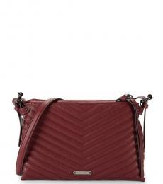 Rebecca Minkoff Cherry Edie Quilted Medium Crossbody Bag