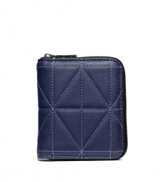 Coach Blue Quilted Wallet