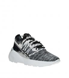 Black White Sporty Sneakers