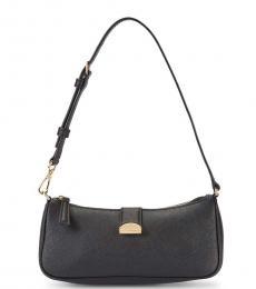 Marc Jacobs Black Crescent Small Shoulder Bag