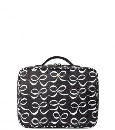 Kate Spade Black Bow Cosmetic Case