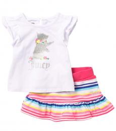 Juicy Couture 2 Piece Top/Skirt Set (Baby Girls)