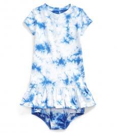 Ralph Lauren Baby Girls Tie Dye Dress
