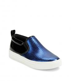 Marc Jacobs Blue Slip On Sneakers