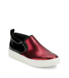 Marc Jacobs Red Slip On Sneakers