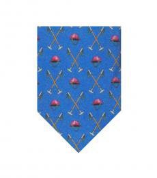 Ralph Lauren Blue Polo Tie