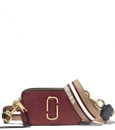 Marc Jacobs New Cranberry Snapshot Small Crossbody