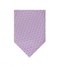 Michael Kors Amethyst Pindot Diamond Tie