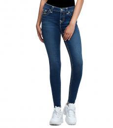 True Religion Genuine Indigo Halle Super T Skinny Fit Stretch Jeans