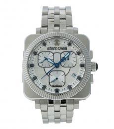 Roberto Cavalli Silver Bohemienne Watch