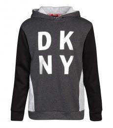 DKNY Boys Grey Logo Sweatshirt