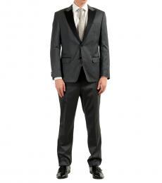 Hugo Boss Grey Tuxedo Two Button Suit