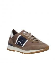 Philippe Model Brown Sporty Sneakers