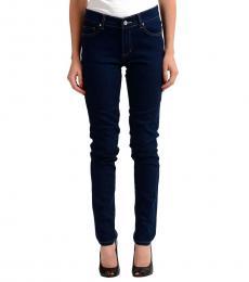 Versace Jeans Dark Blue Straight Leg Jeans