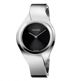 Silver Decisive Senses Time Piece