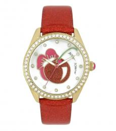 Red Cherry Ritzy Watch