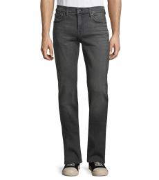 7 For All Mankind Grey Slimmy Squiggle Super-Skinny Jeans