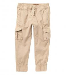 7 For All Mankind Little Boys Stone Cargo Pocket Joggers