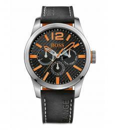 Hugo Boss Black Leather Modish Watch