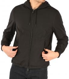 Ermenegildo Zegna Black Cashmere Reversible Jacket