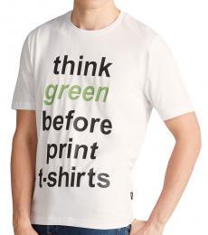 Optical White Think Green T-Shirt