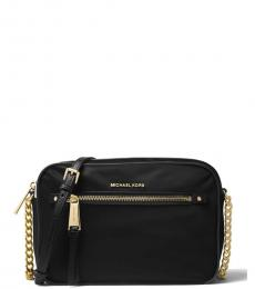Black Polly Medium Crossbody