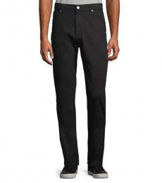 Black Classic-Fit Jeans