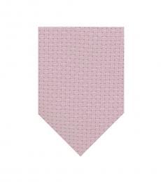 Calvin Klein Pink Contrast Geo Tie