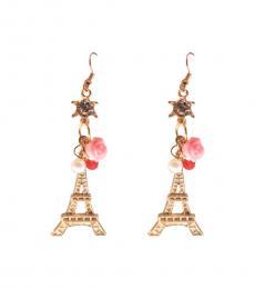 Gold Eiffel Tower Earrings
