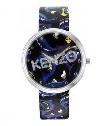 Kenzo Multi-color Round Watch