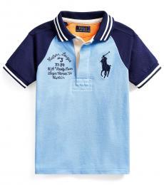 Ralph Lauren Little Boys Blue Lagoon Big Pony Polo