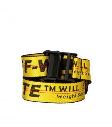Yellow Classic Industrial Belt