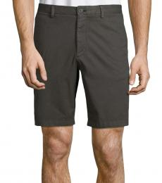 Theory Black Stretch-Cotton Shorts