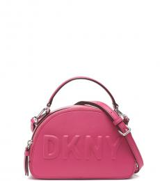 DKNY Electric Pink Tilly Dome Small Crossbody