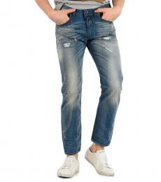 Diesel Blue Denim Buster Jeans