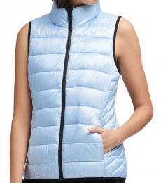 DKNY Winter Lake Funnel Neck Puffer Vest