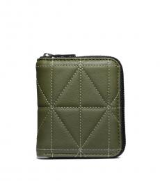 Coach Olive Quilted Wallet