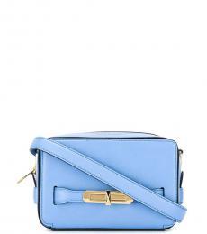 Alexander McQueen Blue The Myth Small Crossbody Bag