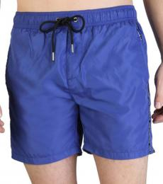 Karl Lagerfeld Navy Blue Front Logo Swimwear