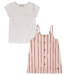 Calvin Klein 2 Piece T-Shirt/Jumper Set (Baby Girls)