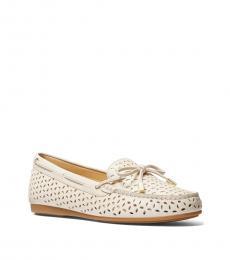 Michael Kors Light Cream Sutton Loafers