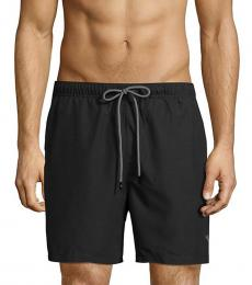 Tommy Bahama Black Naples Swim Shorts