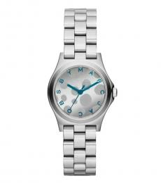 Marc Jacobs Silver Graphic Dial Watch