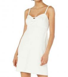 Betsey Johnson Vanilla Frosting Sweet Heart Neck Dress