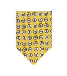 Ralph Lauren Yellow Foulard Tie