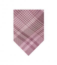 Michael Kors Pink Glen Check Tie