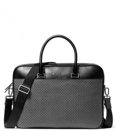 Michael Kors Grey Hound Henry Large Briefcase Bag