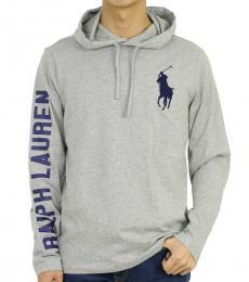 Ralph Lauren Grey Logo Pony Hoodie