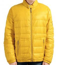Prada Yellow Zip Down Light Parka Jacket