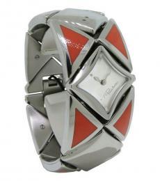 Roberto Cavalli Silver Chain Splendid Watch